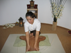 en massage center fliser
